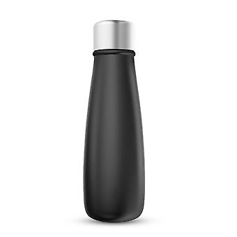 Digital thermos 400 ml - insulated stainless steel water bottle