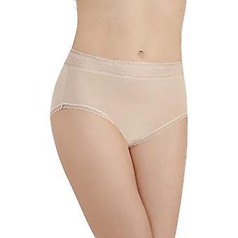 Vanity Fair Women's Flattering Lace Brief Panty 13281, Honey Beige, X-Large/8