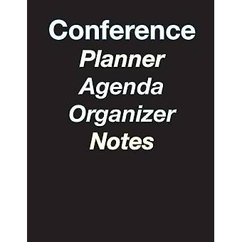 Large Color Coded 5Day Conference PlannerOrganizerAgendaNoteTaking  8.5 x 11  44 pages by Terrazas & April Chloe