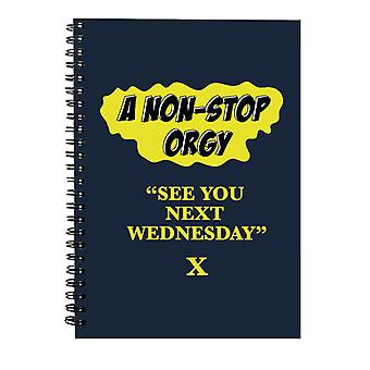 American Werewolf In London See You Next Wednesday Spiral Notebook