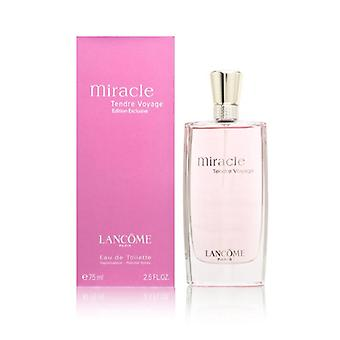 Miracle tendre voyage by lancome for women 2.5 oz eau de toilette spray