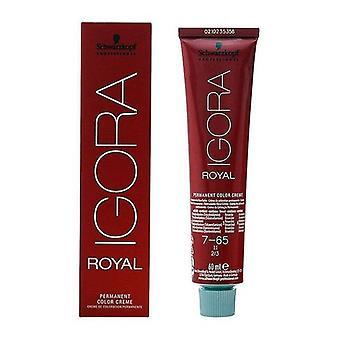 Permanent Dye Igora Royal Schwarzkopf