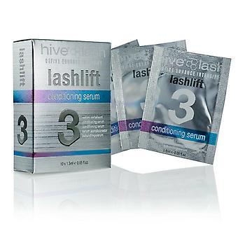 Hive av skönhet Lashlift 3 Definiera Förbättra Ögonfrans conditioning Serum 10 x 1,5 ml