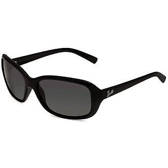 مولى بوللي النظارات الشمسية المستقطبة الدخان العدسة (الإطار سوداء لامعة)