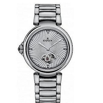 Edox kellot LaPassion Open Heart Naisten Watch Automaattinen 85025 3M AIN
