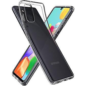 Casco para Samsung Galaxy A41 Cristal Líquido Transparente