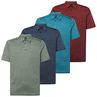 Oakley Mens Gradient Gravity 2.0 Camisa polo respirável