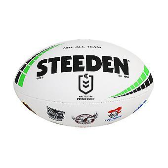 Steeden NRL Australia All Star Team 2020 Rugby League Ball White