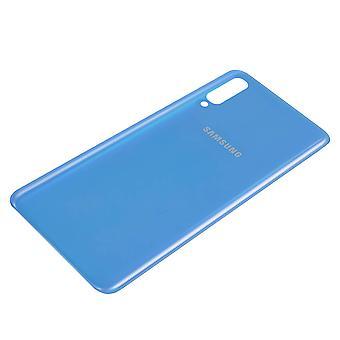 Tampa de bateria Samsung Galaxy A70 Substituição do painel traseiro azul