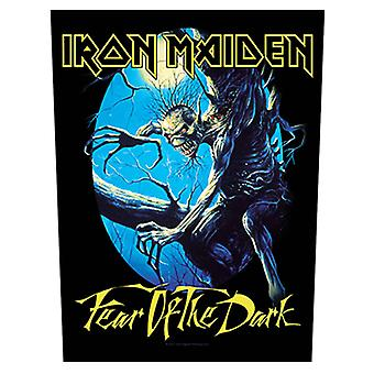 Iron Maiden Back Patch Fear Of The Dark band logo Official (36cm x 29cm)