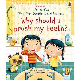 Varför ska jag borsta tänderna? av Katie Daynes - 9781474968935 Bok