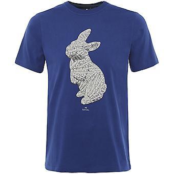 Paul Smith Orgaaninen Puuvilla Kani Bones T-paita