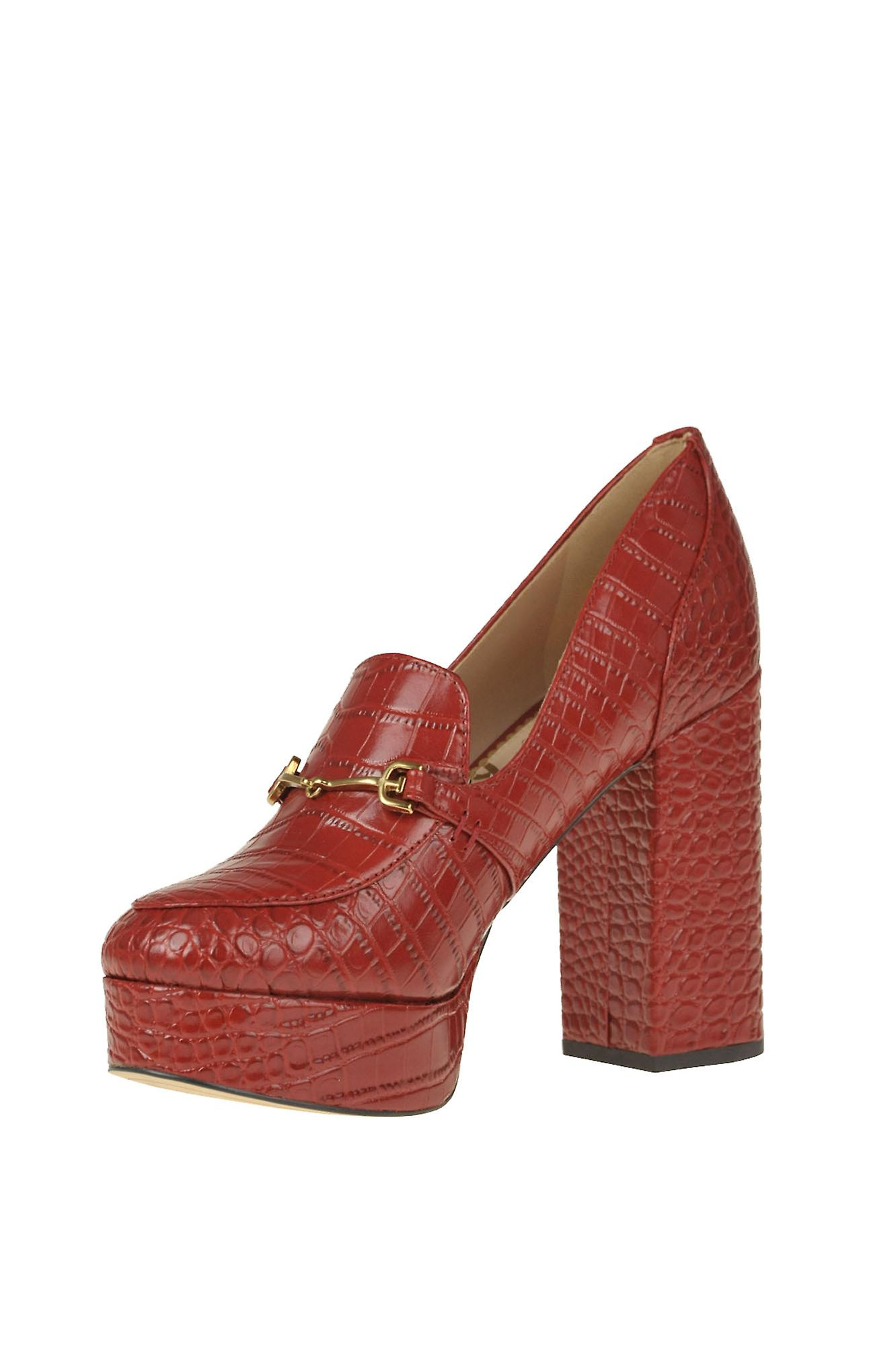 Sam Edelman Ezgl071008 Femmes-apos;s Red Leather Pumps
