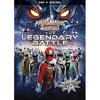 Power Rangers Super Megaforce: Legendaarinen taistelu [DVD] Yhdysvallat tuoda
