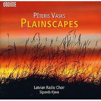 Peteris Vasks - Peteris Vasks: Plainscapes [CD] USA import