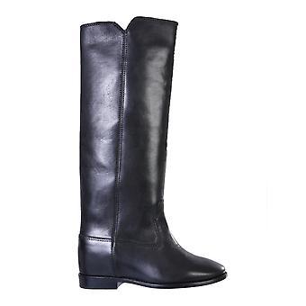 Isabel Marant Bt000800m104s01bk Women's Black Leather Boots