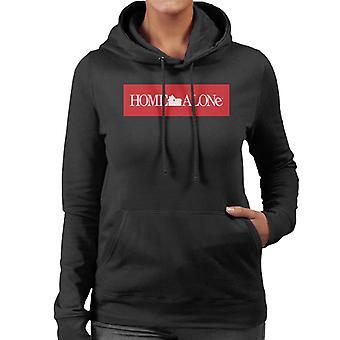 Home Alone Film Logo Women's Hooded Sweatshirt