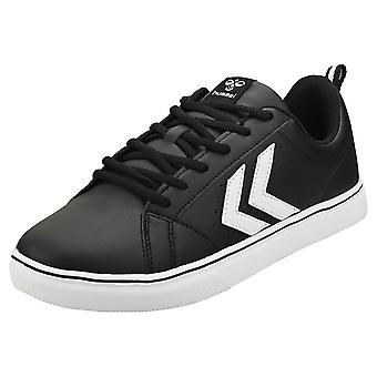 hummel Mainz Mens Casual Trainers in Black White