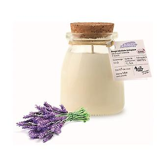 Natural lavender scented candle small model 30h 120 g