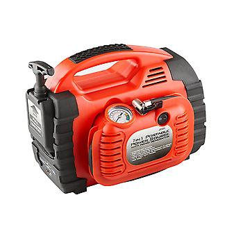 Battery Charger Jump Starter Air Compressor Engine Car Battery Booster Portable