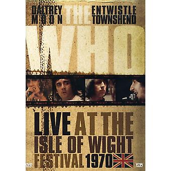 Who - Live at the Isle of Wight 1970 [DVD] USA import