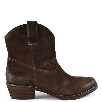 Ash IKE Espresso Suede Boots