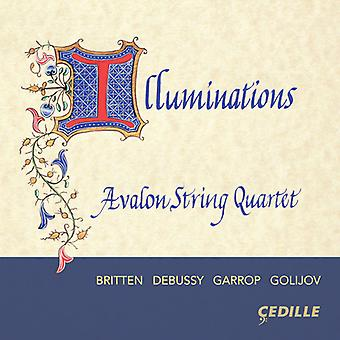 Debussy / Avalon String Quartet - Illuminations [CD] USA import