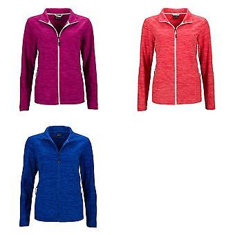 James and Nicholson Womens/Ladies Fleece Jacket