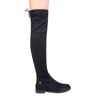 Laura 2259 biagiotti women's knee laces boots