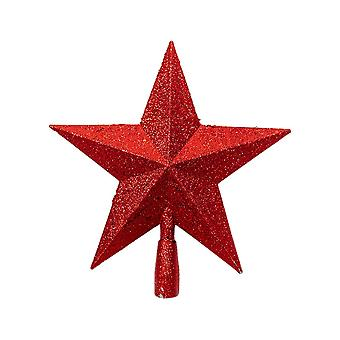 Christmas Tree Decoration Five-pointed Star Red 19x19.5CM