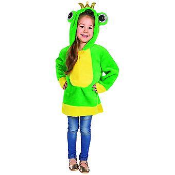 Frog Cape Kids kostym padda groda kostym Groda Kung