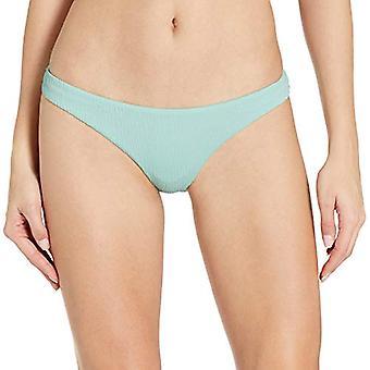 Body Glove Women's Basic Fuller Coverage Bikini Bottom Swimsuit, NEO Mint, Me...
