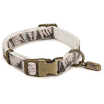 Designed By Lotte Nylon Collar - Virante Oribo Beige - 15mm x 26- 40cm