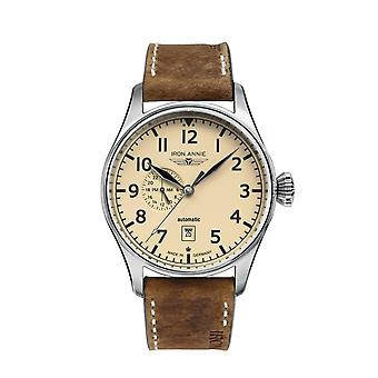 Iron Annie 5168-5 Flight Control Beige Dial Automatic Wristwatch
