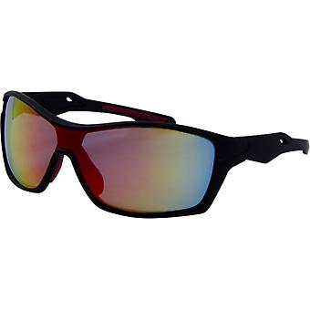 Sunglasses Unisex Sport Kat. 3 black/orange (9155-B)