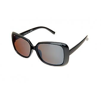 Sunglasses Women's Black/Brown (PZ20-058)