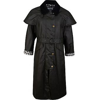 Barbour By Alexa Chung Trudie Waxed Gingham Trench Coat