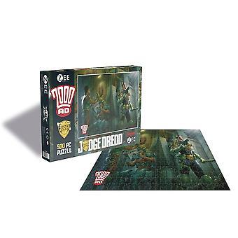 2000ad - judge dredd - 500 piece puzzle