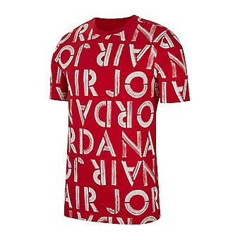 נייקי אייר ג'ורדן מודפס צוות CN3586687 אוניברסלי כל השנה גברים חולצת טריקו