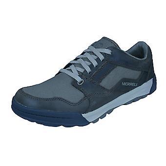 Merrell Berner cambio encaje Mens zapatillas zapatos - marrón