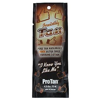 Lotion de bronzage Pro Tan Irresistiblement Tan Ultra Dark 22ml