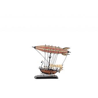 Steampunk Airship Model with Crows Nest