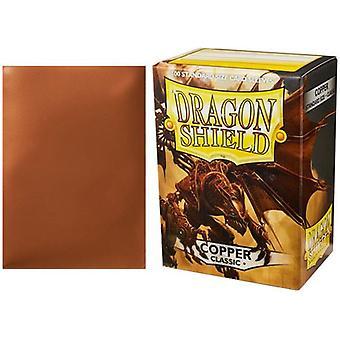 Dragon Shield Klassische Standard Größe Ärmel 100pk - Kupfer (Packung mit 10)