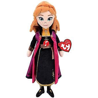 Ty Beanie Babie - Disney Prinses Anna met Sound Kids Speelgoed