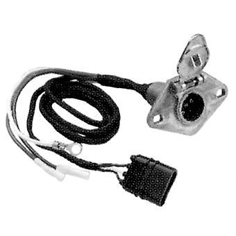 Hopkins 47165 6-Wire Rd Trailer Conn.(Metal)