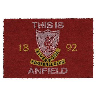Liverpool FC, Fußmatte - This Is Anfield