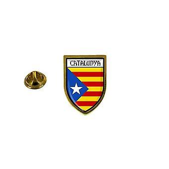 pins pin badge pin's souvenir drapeau pays blason catalogne catalan independant
