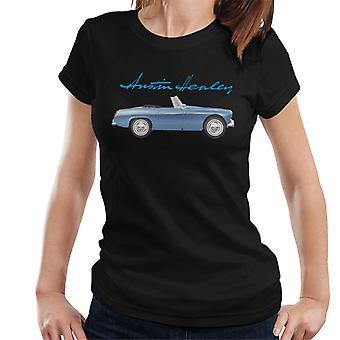Austin Healey Blue British Motor Heritage Women's T-Shirt