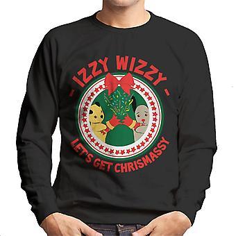 Sooty Christmas Lets Get Chrismassy Men's Sweatshirt