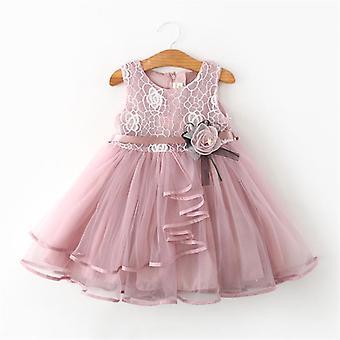 Sommer kjoler til pige-beading prinsesse fest kjole elegant ceremoni 4/5/6 år Teenage Girl kostume